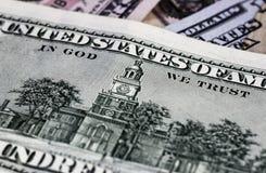 Доллары детали Стоковые Изображения RF