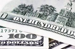 Доллары детали Стоковая Фотография RF