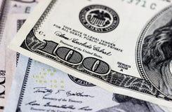 Доллары детали Стоковое фото RF