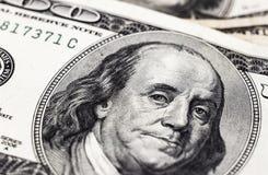 Доллары детали Стоковое Фото