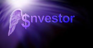 Доллары инвестора Анджела Стоковое Изображение