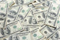 Доллары - полная рамка Стоковые Изображения RF