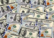 Доллары предпосылки счета Стоковое фото RF