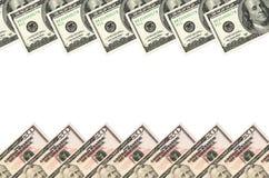 Доллары рамки Стоковое Фото