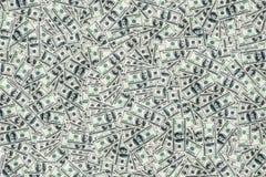 Доллары складывают как предпосылка Стоковое фото RF