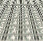 Доллары складывают как предпосылка Стоковое Изображение RF