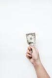 Доллары счета в наличии Стоковое фото RF
