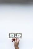 Доллары счета в наличии Стоковые Фото