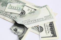 Доллары счета Стоковые Изображения RF