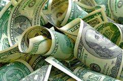 Доллары США наличных денег стоковое фото