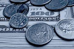 Доллары США наличных денег Стоковые Фотографии RF
