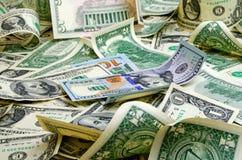 Доллары США наличных денег стоковое изображение rf