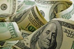 Доллары США наличных денег стоковое фото rf