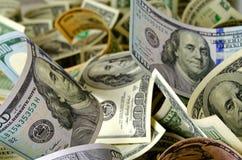 Доллары США наличных денег стоковая фотография