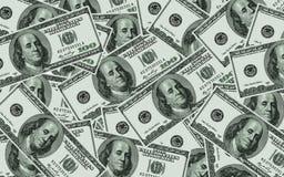 Доллары США. Справочная информация Стоковое Фото