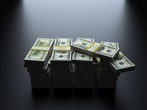 Доллары США Стоковая Фотография RF