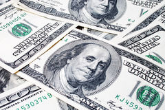 Доллары текстуры Стоковая Фотография RF