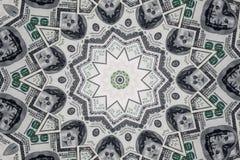 Доллары текстуры Стоковое Изображение RF