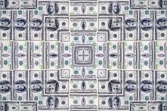 Доллары текстуры Стоковые Изображения