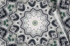 Доллары текстуры Стоковое фото RF