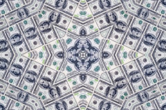 Доллары текстуры Стоковые Изображения RF