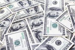 Доллары текстуры Стоковое Изображение