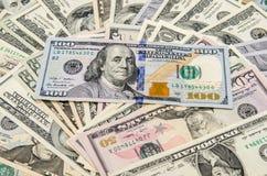 Доллар как предпосылка Стоковое Изображение