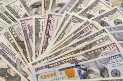Доллар как предпосылка Стоковые Фото
