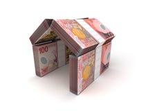 Доллар Новой Зеландии принципиальной схемы недвижимости бесплатная иллюстрация