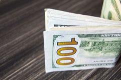Доллар, доллар США, изображения доллара для мест обменом, изображения доллара в различных концепциях, деньги подсчитывая руку, де Стоковое Изображение