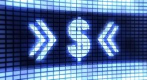 Доллар панели Стоковые Фотографии RF