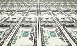 Доллар печатания Стоковое фото RF