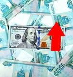 Доллар растет концепция Стоковое Изображение