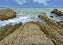 Долгая выдержка моря Стоковые Фотографии RF