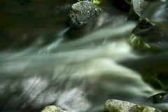 Долгая выдержка речных порогов на реке Blackledge, Хевроне, соединяется Стоковые Фото