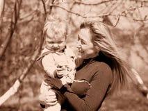 Долгожданный младенец Стоковые Изображения
