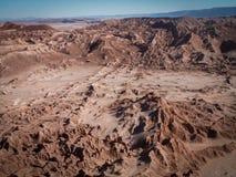 Долина ландшафта луны Стоковые Фотографии RF