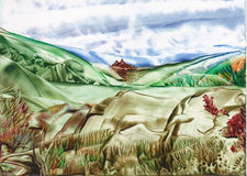 Долина воды Стоковое фото RF