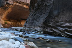 Долина воды Стоковая Фотография