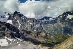Долина в горах Стоковая Фотография