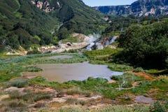 Долина гейзеров kamchatka Стоковое Изображение