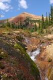 Долина горы лета - вертикаль Стоковые Изображения
