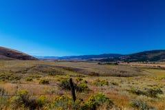Долина горячих источников Стоковое Изображение