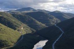 Долина Дуэро Португалия Coa стоковые фотографии rf