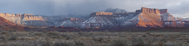 Долина замка Стоковое Изображение RF