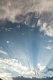Долина захода солнца лт Стоковое Изображение RF