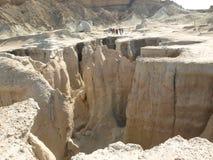 Долина звезд на острове Qeshm, Иране Стоковые Изображения