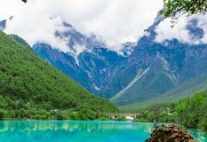 Долина или lanyuegu голубой луны Стоковые Изображения RF