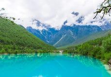Долина или lanyuegu голубой луны Стоковые Изображения