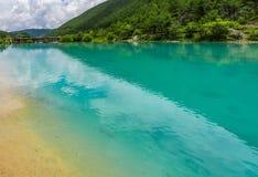 Долина или lanyuegu голубой луны Стоковые Фото